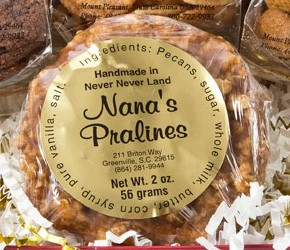 Nana makes the best pralines in the South!